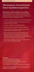 Oberlausitzer Genussfestival 14. Juni – 13. Juli 2014 - Page 6