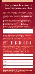 Oberlausitzer Genussfestival 14. Juni – 13. Juli 2014 - Page 7
