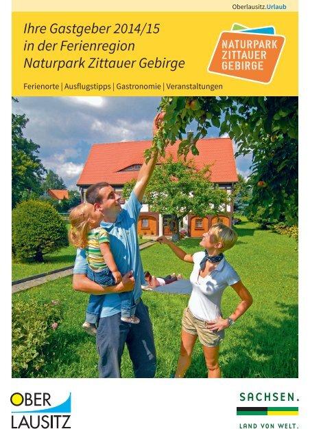 Ihre Gastgeber 2014/15 in der Ferienregion Naturpark ... - Oberlausitz