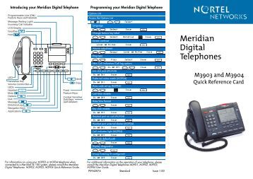 Nortel option Manual ssc card