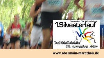 Download der AUSFÜHRLICHEN Ausschreibung Silvesterlauf 2010