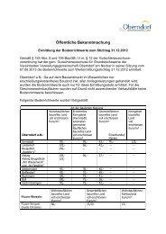 Bodenrichtwerte Stand 31.12.2012 - in der Stadt Oberndorf am Neckar