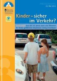 Kinder - sicher im Verkehr?