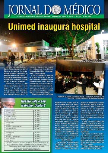 jornal/Medico119 Maio 2009.pdf - Associacao Paulista de Medicina ...