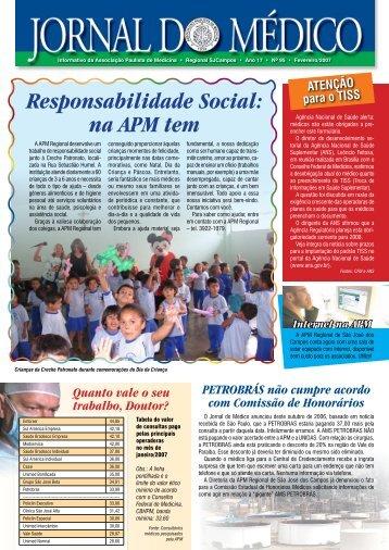 na APM tem - Associacao Paulista de Medicina Sao Jose dos Campos