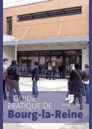 Guide pratique de la ville - Bourg-la-reine
