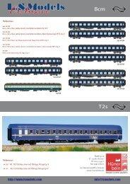 LS Models DB Touristik Wagen & NS Bcm Wagen