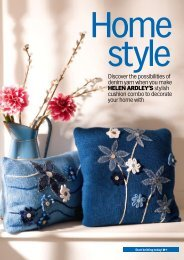 Discover the possibilities of denim yarn when you make ... - Knit Today