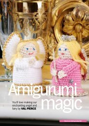 You'll love making our enchanting angel and fairy by ... - Knit Today