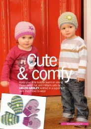 Keep your little toddler warm in one of these sweet hat ... - Knit Today