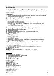 Gemeindevertretung (686 KB) - .PDF - Oberndorf bei Salzburg