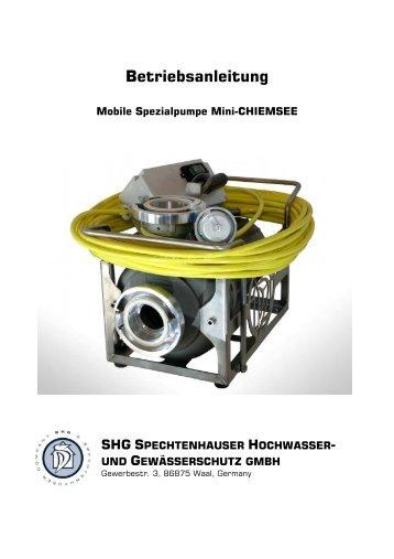 Mini Chiemsee Bedienungsanleitung - Obernsees