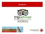 Handbuch TripAdvisor - Oberösterreich Tourismus