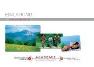 Einladung 2007 - Oberösterreich Tourismus