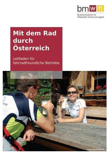 fahrradfreundliche Betriebe - Bundesministerium für Wirtschaft ...