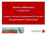 Kursbuch-Information für Tourismusschulen - Oberösterreich ...