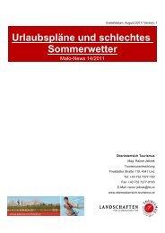 Mafo-News - Oberösterreich Tourismus