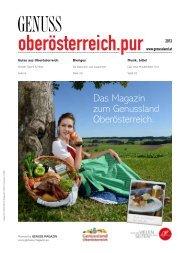 Das Magazin zum Genussland Oberösterreich.