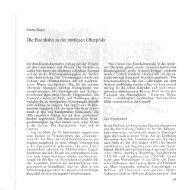 Die Eisenbahn in der mittleren Oberpfalz - Oberpfälzer Kulturbund