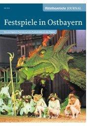 Festspiele in Ostbayern - Oberpfälzer Kulturbund eV