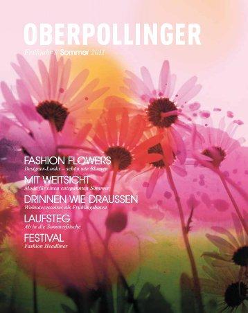 Oberpollinger Katalog Frühjahr / Sommer 2011
