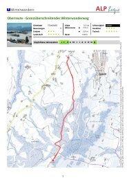 Winterwandern Oberreute - Grenzüberschreitender Winterwanderweg