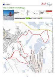 Langlauf Oberreute R32 Kremlerbad-Loipe