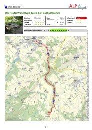 Wanderung Oberreute: Wanderung durch die Hausbachklamm