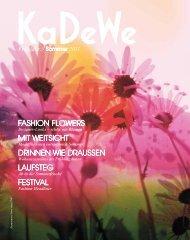 KaDeWe Katalog Frühjahr / Sommer 2011
