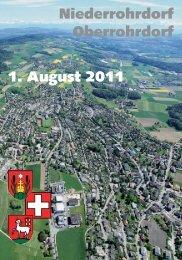 Flyer - Gemeinde Oberrohrdorf