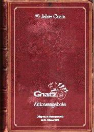 Sonderrabatt auf alle aufgeführten Artikel - Louis Gnatz GmbH