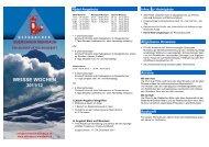 WEISSE WOCHEN - Bergbahnen Obersaxen-Mundaun