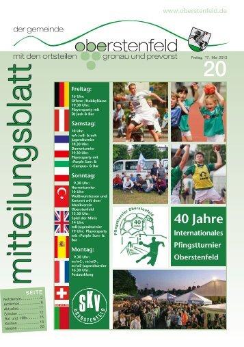 Oberstenfeld KW 20 ID 67963 - Gemeinde Oberstenfeld