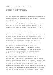 Statement der Sulmtalgemeinden Weinsberg, Ellhofen und ...