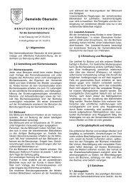 Benutzungsordnung für die Gemeindebücherei Format: PDF, Größe
