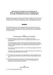 Richtlinien für die Gewährung von Zuschüssen - Stadt Obertshausen