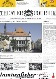 TheaterCourier - Ausgabe 9 - 03. Mai 2014