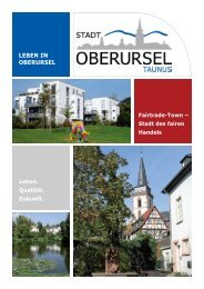 Bürgerbroschüre Oberursel 2013 - Stadt Oberursel