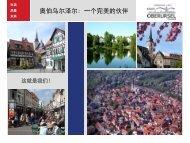 奥伯乌尔泽尔: 一个完美的伙伴 - Stadt Oberursel