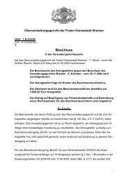 OVG 1 B 474/04 (pdf, 22.5 KB) - Oberverwaltungsgericht Bremen