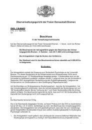 OVG 1 B 454/03 (pdf, 18.3 KB) - Oberverwaltungsgericht Bremen