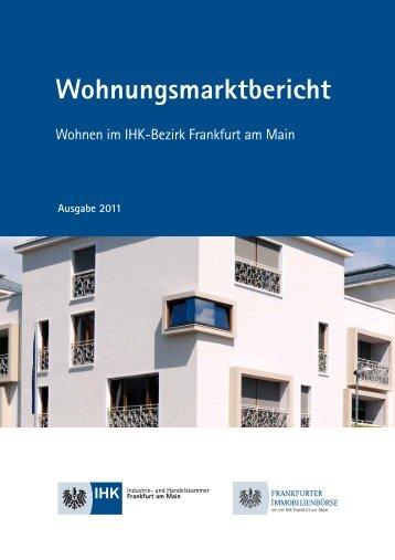 Wohnen Im IHK-Bezirk Frankfurt Am Main - Stadt Oberursel
