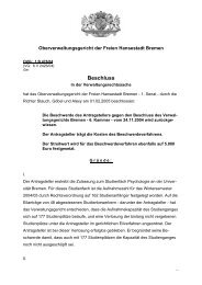 OVG 1 B 476/04 (pdf, 22.8 KB) - Oberverwaltungsgericht Bremen