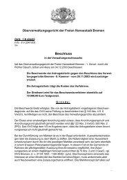 OVG 1 B 424/03 (pdf, 17.4 KB) - Oberverwaltungsgericht Bremen