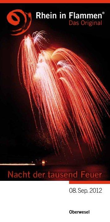 Nacht der tausend Feuer Rhein in Flammen - Oberwesel