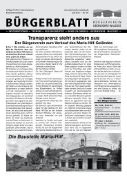 Transparenz sieht anders aus - Oberwiehre-Waldsee