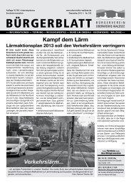 Ausgabe 193 - Dezember 2013 (pdf, 5,6 MB) - Oberwiehre-Waldsee