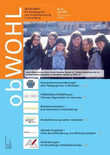 obWOHL - OBHUT - Beratungsservices für Kinderbetreuung