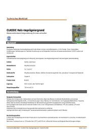 CLASSIC Holz-Imprägniergrund - Obi