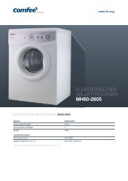 ELEKTRONISCHER ABLUFTTROCKNER MH60-2605 - Obi